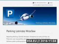 Miniaturka domeny www.parkinglotniskowroclaw.pl