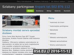 Miniaturka <strong>szlabany</strong> - dostawa, instalacja i serwis (parkingoweblokady.pl)