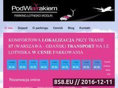 Miniaturka domeny www.parkingpodwiatrakiem.pl