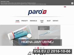Miniaturka domeny paro.com.pl