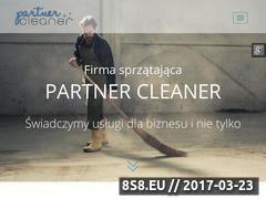 Miniaturka partnercleaner.pl (Sprzątanie biur Katowice - PartnerCleaner)