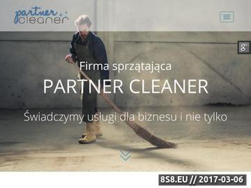 Zrzut strony PartnerCleaner - sprzątanie biur Katowice