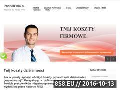 Miniaturka domeny www.partnerfirm.pl