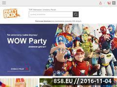 Miniaturka domeny www.partybox.pl