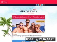 Miniaturka domeny www.partycamp.pl