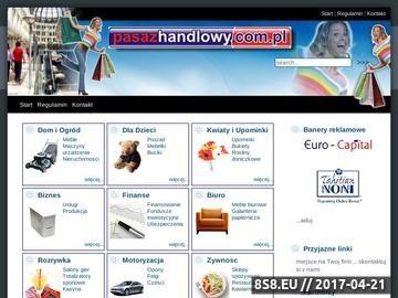 Zrzut strony Katalog firm z regionu - Andrychów, Wadowice, Kęty, Bielsko Biała.