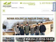 Miniaturka domeny pasi-konik.pl
