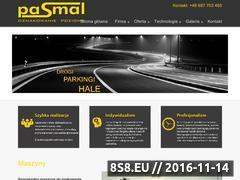Miniaturka domeny www.pasmal.pl