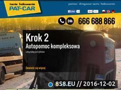 Miniaturka domeny pat-car.pl