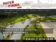 Miniaturka domeny www.pater.pl