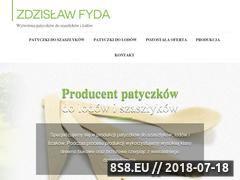 Miniaturka patyczki-ns.pl (Patyczki do szaszłyków - producent)