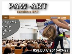 Miniaturka domeny www.paw-art.com.pl