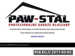 Miniaturka domeny www.paw-stal.pl