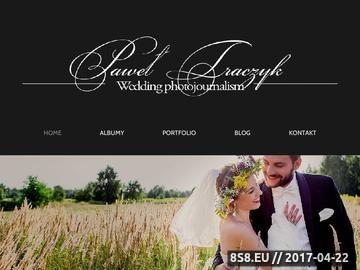 Zrzut strony Fotografia ślubna - zdjęcia ślubne Warszawa