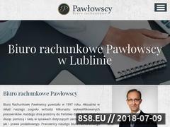 Miniaturka www.pawlowscy.pl (Księgowość i doradztwo podatkowe)