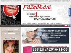 Miniaturka domeny www.paznokcie.pl
