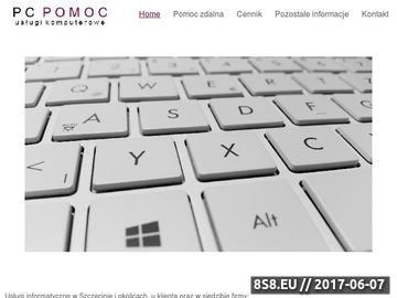 Zrzut strony Naprawa komputerów Szczecin