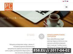 Miniaturka pcexperts.pl (Serwis komputerowy Trakt Lubelski)