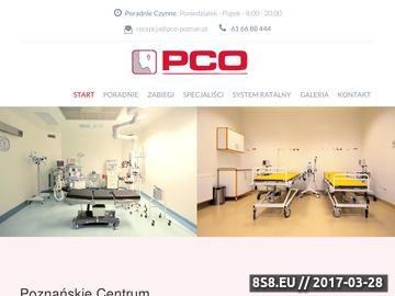Zrzut strony PCO - otolaryngologia