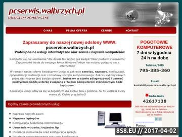 Zrzut strony Serwis Komputerowy - Wałbrzych i Okolice (pcserwis.walbrzych.pl)