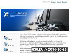 Miniaturka domeny www.pcserwis4u.pl