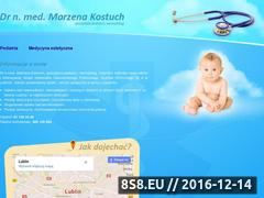 Miniaturka domeny pediatra.lublin.pl