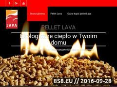 Miniaturka www.pellet-lava.pl (Pellet Lava)