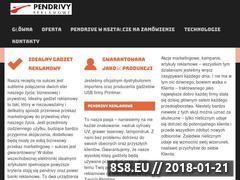 Miniaturka pendrivy-reklamowe.pl (Produkcja gadżetów USB)