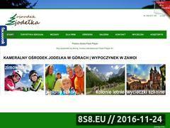 Miniaturka domeny www.pensjonat-gazda.com.pl