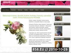 Miniaturka domeny www.peonia.krakow.pl
