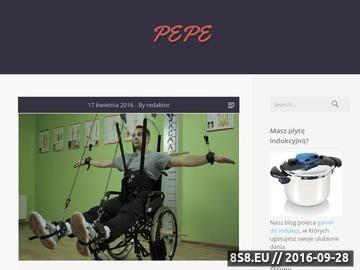 Zrzut strony Sklep z artykułami dla gołębi Pepe