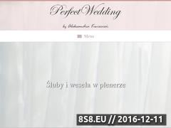 Miniaturka domeny perfect-wedding.pl