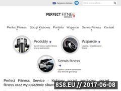 Miniaturka domeny www.perfectfitness.pl