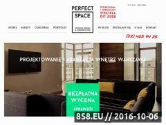 Miniaturka domeny perfectspace.pl