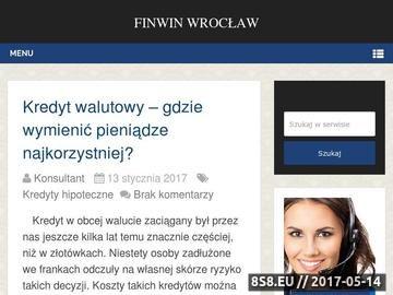 Zrzut strony Banki Wrocław