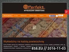 Miniaturka domeny perfekt-wykladziny.pl