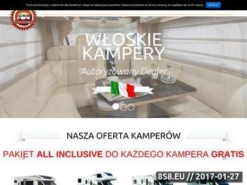 Zrzut strony PerfektCamp kampery - campery, sprzedaż kamperów i sprzedaż samochodów kampingowych