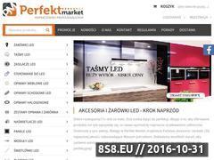 Miniaturka domeny www.perfektmarket.pl