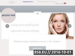 Miniaturka domeny www.perfektmed.pl