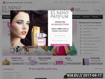 Zrzut strony Perfumeria internetowa