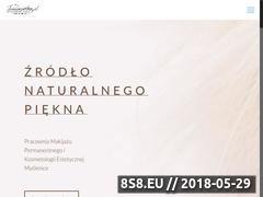 Miniaturka permanentna.pl (Makijaż permanentny, kosmetyka i estetyka)