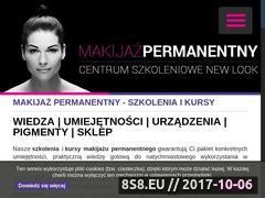 Miniaturka permanentny.com (Makijaż permanentny Warszawa)
