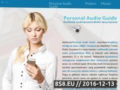 Miniaturka personalaudioguide.com (Personal Audio Guide - osobiste przewodniki turystyczne)