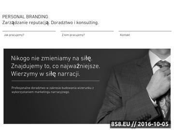 Zrzut strony Tworzenie marki własnej PERSONAL BRANDING