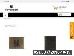 Miniaturka domeny peterson.com.pl