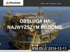Miniaturka domeny www.petrointer.pl