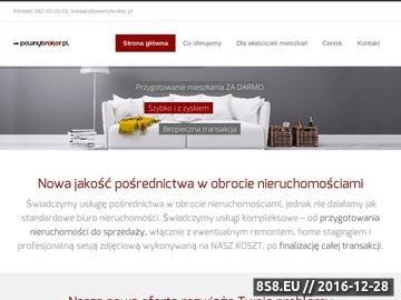 Zrzut strony Biuro nieruchomości we Wrocławiu