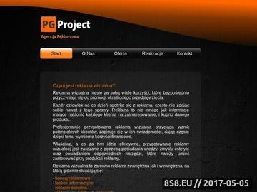 Zrzut strony Agencja reklamowa Kraków