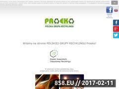 Miniaturka domeny www.pgrproeko.pl