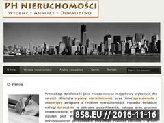 Miniaturka domeny www.ph-nieruchomosci.pl